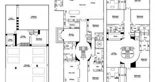 This palatial 7-bedroom Ensuites floor plan has a basement with 6 cars