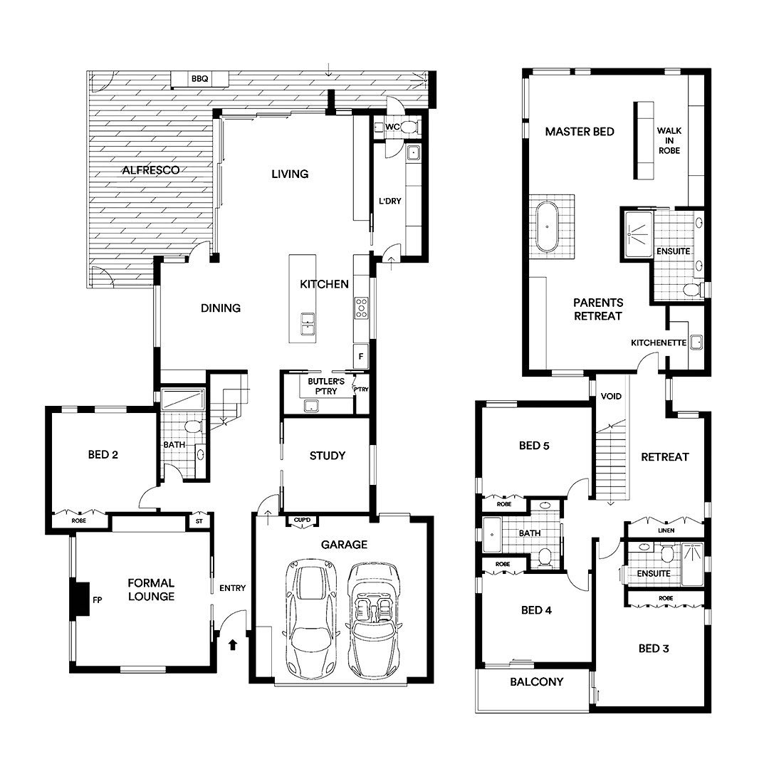 This Spacious Family Layout Consists Of 5 Spacious Double