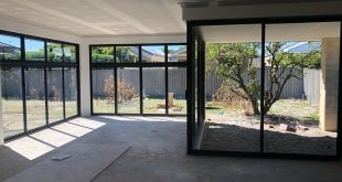 Windows and doors become a big bright room