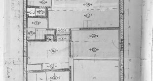 Wow, I found these drawings from the years 1965-67 of a house plan! As