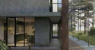 """Set in school for the course: """"Exterior Visualization in 3DS Max""""! ⠀ 4 weeks n"""