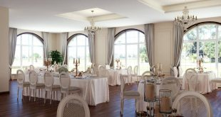 Visualization of the restaurant for celebrations , , ,