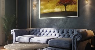 Independent design solution and further interior visualization in the dark