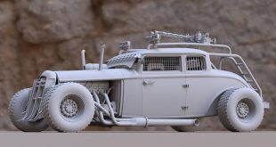 Ingenious model of Reminds me of mad max! ° ° Do not be selfish, motivate a hello
