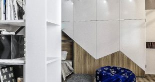 Option Design Nursery for a boy in a three-story cottage st. Semyon-D