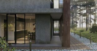 """Set in school for the course: """"Exterior Visualization in 3DS Max""""! , 4 weeks n"""