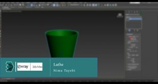 3dmaxxer Third lesson from the series  ----------------- lathe ----------------- With us