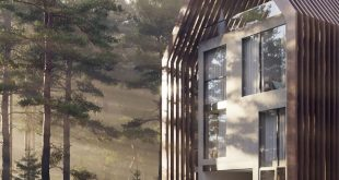 """Friends of my friends are promoting the school for the class: """"Exterior Visualization"""