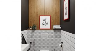Have a nice day everyone! Visualization of a small bathroom  Designer: Visualizer:  With