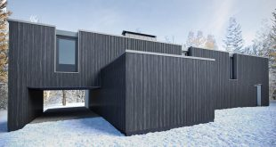 The exterior of the house was made according to the reference in 3D max + corona tenderer 2.0