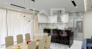 The interior design introduces itself Project: L.H_Architects Name: kitchen Location: Ko