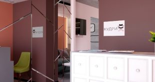The reception area in the beauty salon goes by? The designer , , ,