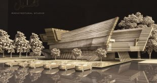 Maquette rendered with wood material I hope you like it