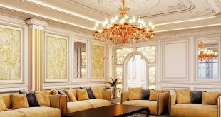 Interior in neoclassical style  3Dsmax and Corona