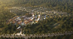 Good Morning. This is an aerial view of the upcoming project in South Sumatra. Cant wa