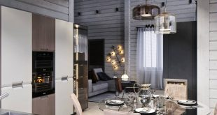 HOUSE FROM THE BRUS.KÜCHE - DINING ROOM , , Slice interior designer visualization