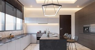 Kitchen furniture from JB's Residence Location; Airport Design by Arc.Sefemor V