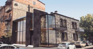 Outline restaurant proposal Architect: Soghomonyan Architects Location: Yerevan