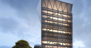 University of Toronto - Academic Wooden Tower Render from. , , ,