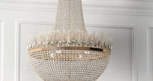 Chandeliers look wonderful as an eye-catcher in a room. Discover the