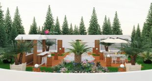 , Design & Render by me roof garden Area: 50m Roofgarden's second draft execution plan