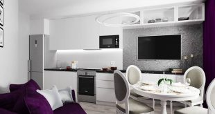 Design project of the interior of the apartment in the LCD Galaxy, St. Petersburg First of