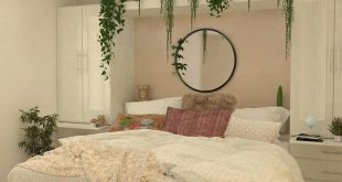 Hello with our new interior! Plant bedroom, simple design Everything materi