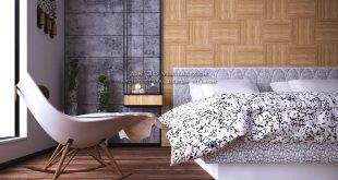 Render close Interior design bedroom , , , , , , ,