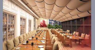The Ritz_ Carlton montŕeal French Restaurant 3D Interior Design by Carlton Res