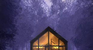 This is my dream house in the depths of the forest (peace and quiet) and the birds sing only with me and me
