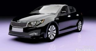 New work of modeling and SMS servicing and rendering of kia optima 2012 Garage Model by Mr. Narima