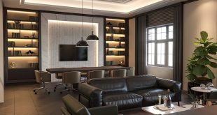 | Personal Office Design | Location: Baku / Azerbaijan • Meeting of gentle elegance
