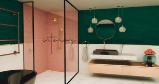 Here is a bathroom project with a combination of several materials! Area: 14 m² program