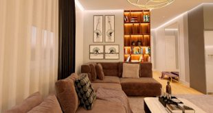 Holiday apartment in Tirana - csoon • Living room and kitchen designed by me •