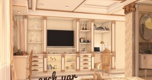, Interior design of the master bedroom Style: Classic Location: Sattarkhan Street Modeling: 3ds