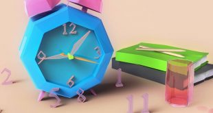 Low poly-clock Inspired by Farid Sir , ,