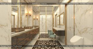 Luxurious bathroom 3ds max Vray & Photoshop.