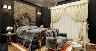 My design for a classic bedroom in Cairo / Egypt (project number: 6)