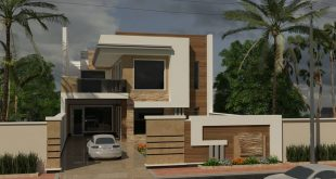 My new design & 3D work House (10 m high) 3Ds max 2020 & v-ray ne