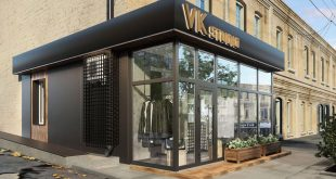 Not just interiors!  New facade for a beauty salon A project for Oran
