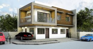 Proposed 2-story residence with 2 residential units Greenheights Village, Parañaque City  archite