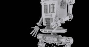 SCI-FI ROBOT HIGH POLY (POLY COUNT-96,000)