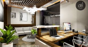 The RUMMAN  Contemporary office space  By