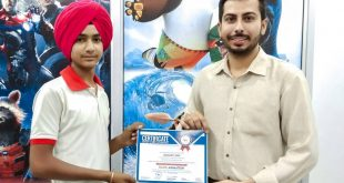 This certificate was successfully presented to Charanjeet Singh