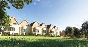 Townhouses in Grüns, exterior visualization for Lillesden Project, UK , By ,