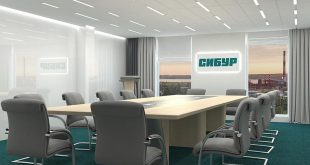 Visualization of the conference room (3dsMax + Vray) in the brand colors of the company. , , ,