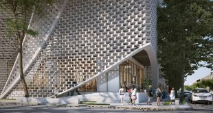 Zacatecas - office building A closeup for Belzberg Architects