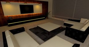Living room designed by