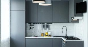 Small kitchenette for customers.