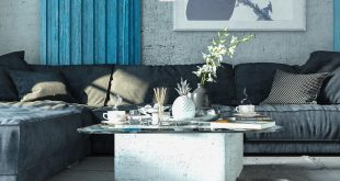 Living Room Design04 * .. Software used: -3DsMax + VrayNext + PS.